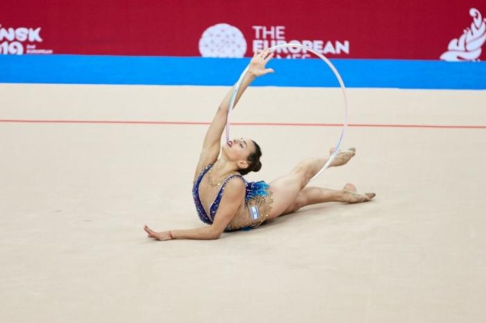 İsrail gimnastı Bakıda qızıl medal qazandı