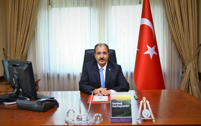 El embajador turco felicita al pueblo azerbaiyano