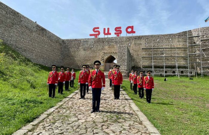 Victory over fascism celebrated in Azerbaijan's Shusha -  PHOTOS