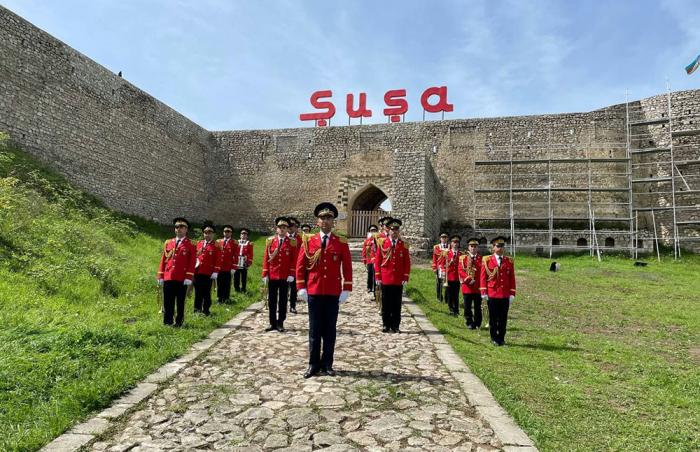 El Día de la Victoria sobre el fascismo se celebra en Shusha -  FOTOS