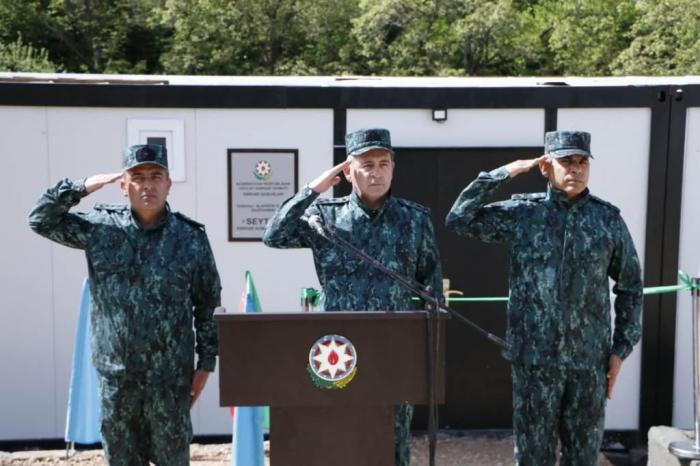 Se ha abierto una nueva unidad militar en Gubadli -  FOTOS