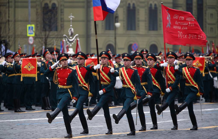 Russia holds Victory Day Parade on Moscow's Red Square - PHOTOS