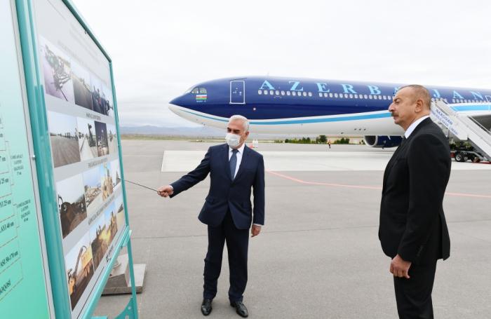 Naxçıvan aeroportunun yeni uçuş-enmə zolağı təqdim olundu- FOTO (YENİLƏNİB)