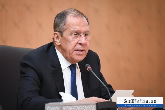 """Sergey Lavrov:    """"Razılaşmaları tam həyata keçirmək vacibdir"""""""
