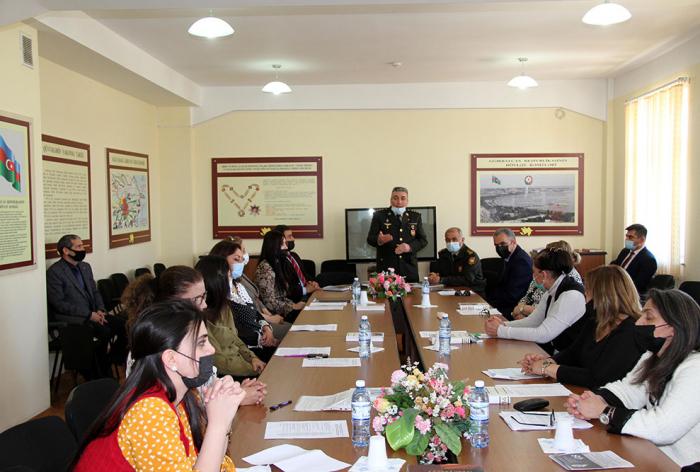 Azerbaijan Military Academy hosts conference dedicated to Heydar Aliyev's 98th birthday anniversary