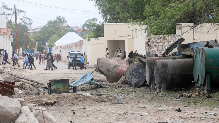 Suicide bombing by Somalia