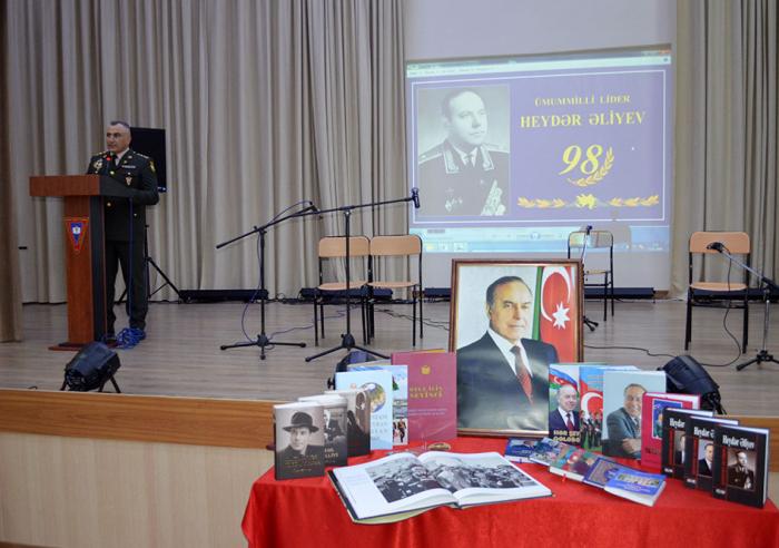 Azerbaijan Military Lyceum celebrates 98th birthday anniversary of national leader –  VIDEO