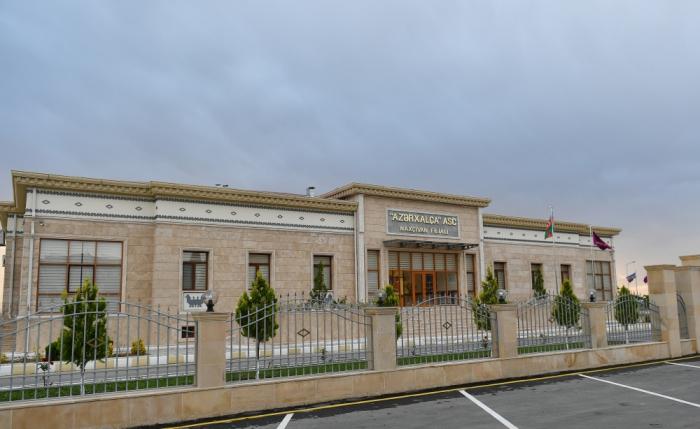 """Nakhchivan branch of """"Azerkhalcha"""" OJSC inaugurated - PHOTOS"""