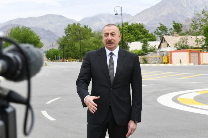 President Ilham Aliyev interviewed by Azerbaijan Television - UPDATED