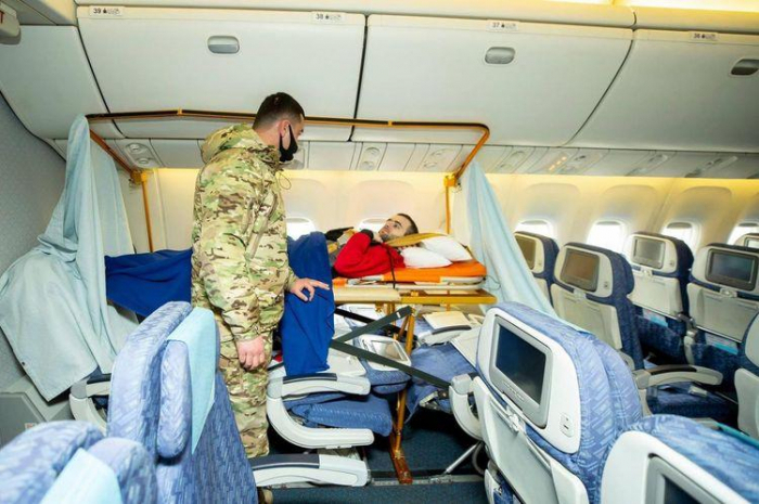 70 Azerbaijani war veterans undergoing treatment in Turkey - PHOTOS