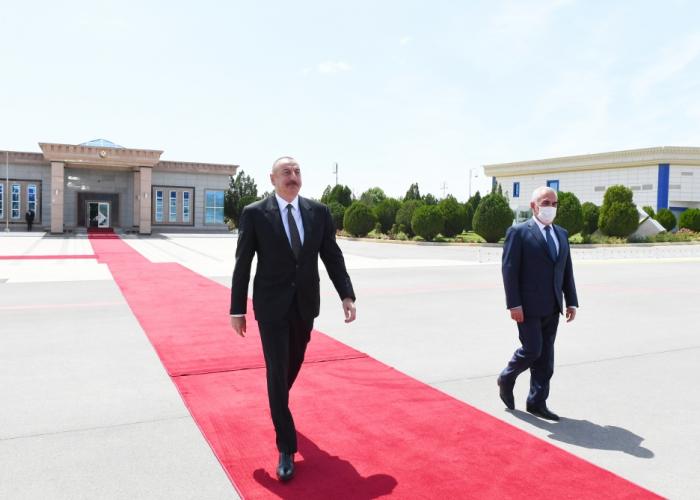 President Ilham Aliyev ends visit to Nakhchivan Autonomous Republic