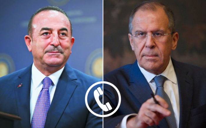 Russian, Turkish foreign ministers discuss Karabakh