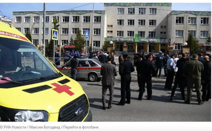 Varios muertos y heridos en un tiroteo en una escuela de la ciudad rusa de Kazán