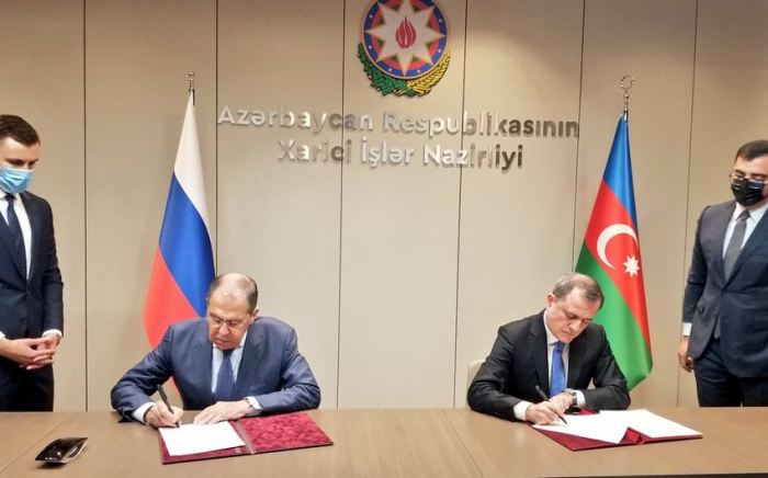 Azerbaijan, Russia ink plan of consultations for 2021-2022