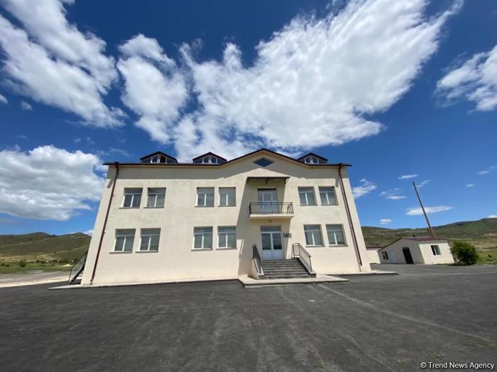 Azerbaijani journalists view SBS Military Hospital in liberated Gubadli