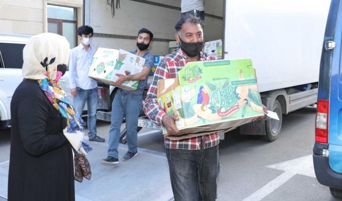 Dövlət Miqrasiya Xidməti yardım aksiyası həyata keçirdi -    FOTO