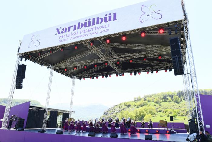 """Şuşada """"Xarıbülbül"""" festivalı hər il keçiriləcək"""