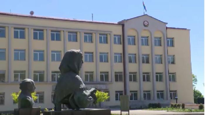 Prezident Şuşada Xüsusi nümayəndəliyin binasında olub -  VİDEO
