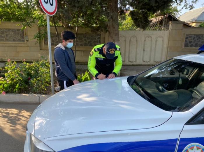 Yol polisi Cəlilabadda reyd keçirdi