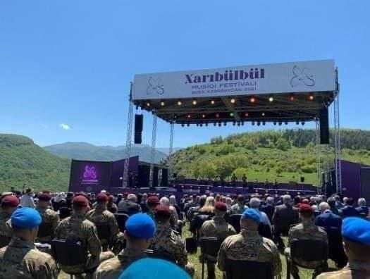 """Shusha acoge el festival de música """"Kharibulbul""""-  Video"""