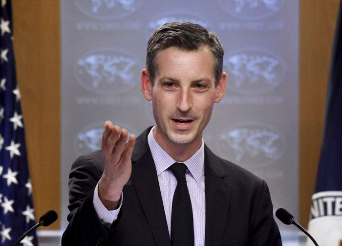 US state department's Ned Price calls Azerbaijan, Armenia to escalate situation peacefully