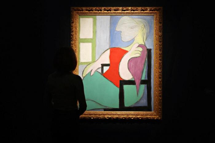 Le tableau «Femme assise près d