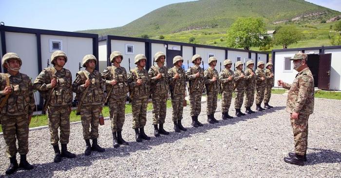 Ministerio de Defensa:  20 unidades militares fueron puestas en funcionamiento en los territorios liberados-  FOTOS