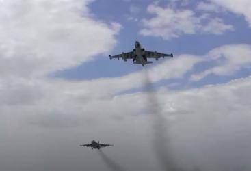 تحليقات تدريبية لطائرات سلاح الجو الأذربيجاني