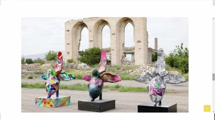 """Şuşadakı """"Xarıbülbül"""" festivalı Fransa mətbuatında"""