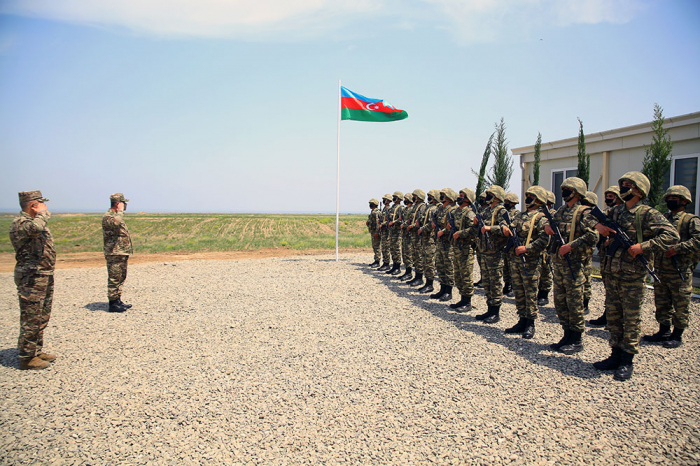 Azerbaijan opens new military unit in liberated areas -  VIDEO| PHOTO