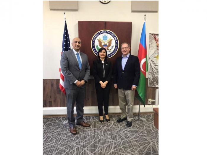 US ambassador to Azerbaijan, USAID director meet with Azerbaijani MP
