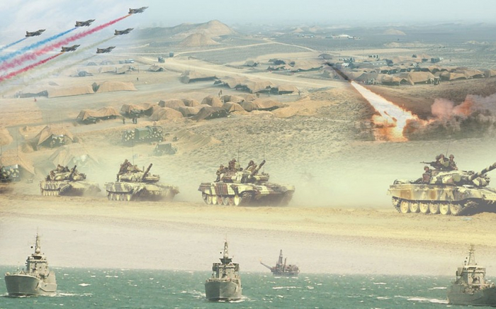 Azerbaijan Army conducts exercises