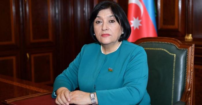 La presidenta del Milli Mejlis Sahiba Gafarova viaja a Italia