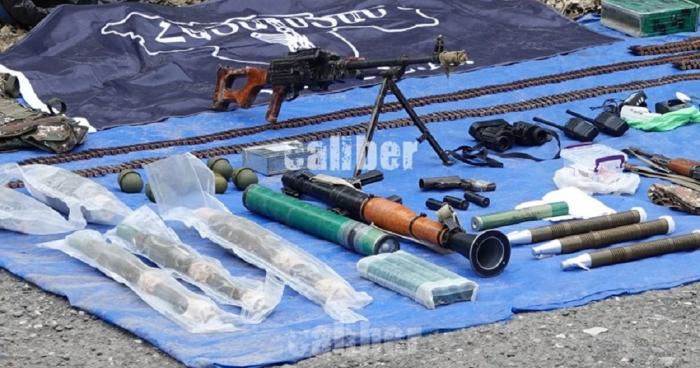 Se descubre un escondite de terroristas de ASALA cerca de Sugovushan