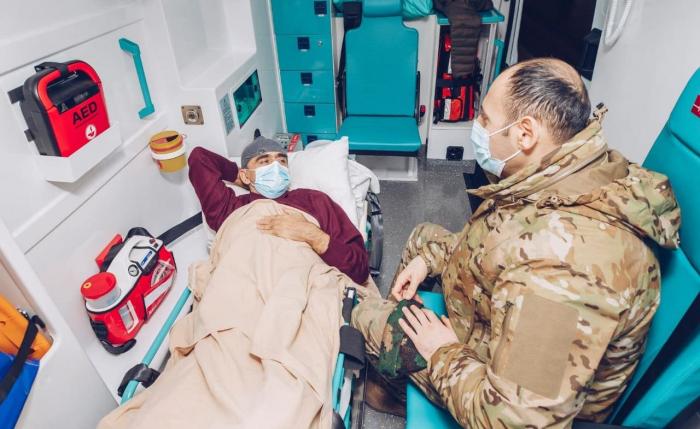 64 de los veteranos de guerra están siendo tratados en Turquía