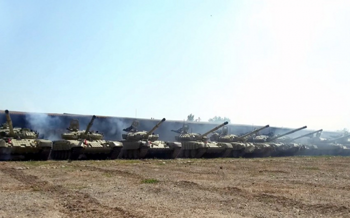 Azerbaijan's tank units fulfill tasks during exercises –   VIDEO