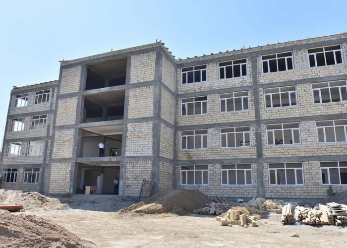 President Ilham Aliyev approves funding for construction of new school in Gabala