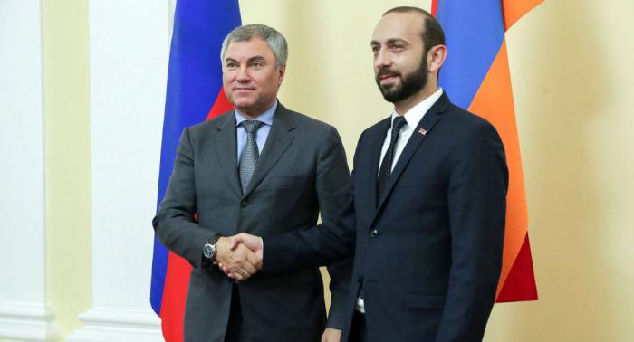 Volodin y Mirzoián abordaron Karabaj