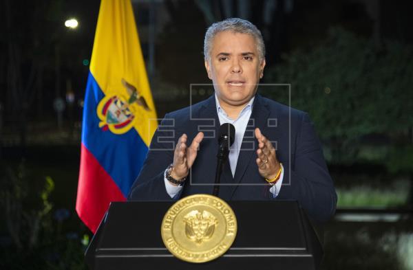 Duque ordena desplegar a la fuerza pública para desbloquear las vías en Colombia