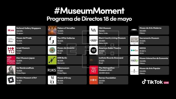 TikTok se une al Día de los Museos desde 23 centros, entre ellos el Prado