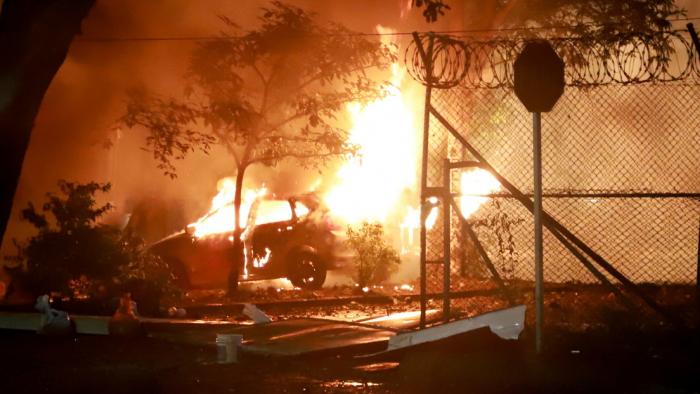 Se produce una fuerte explosión durante enfrentamientos en el Valle del Cauca, que dejaron 2 muertos y más de 30 heridos