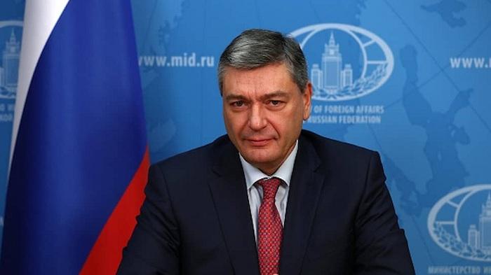 Rudenko abordó el asunto de Karabaj con el embajador de Irán