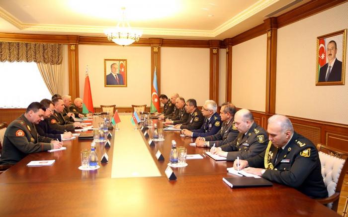 Azerbaijan, Belarus discuss prospects for development of military-technical co-op -   VIDEO