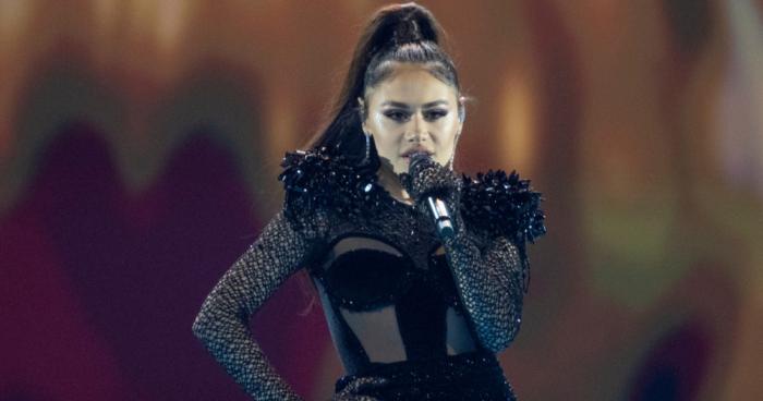 Azerbaijani contestant Samira Efendi advances to Eurovision final -   VIDEO