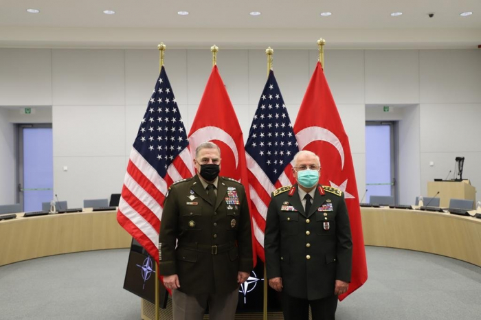 Turkish, US military chiefs discuss importance of cooperation