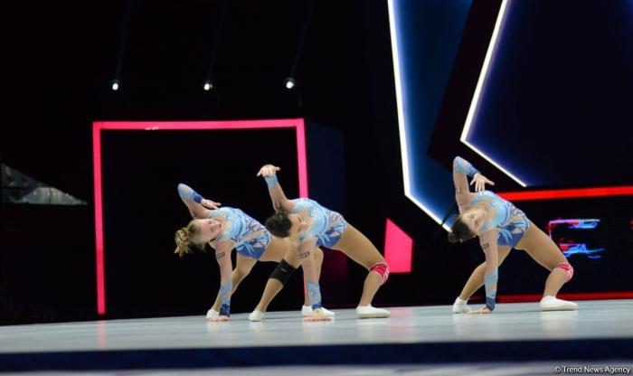 Baku hosts trainings before Aerobic Gymnastics World Age Group Competitions