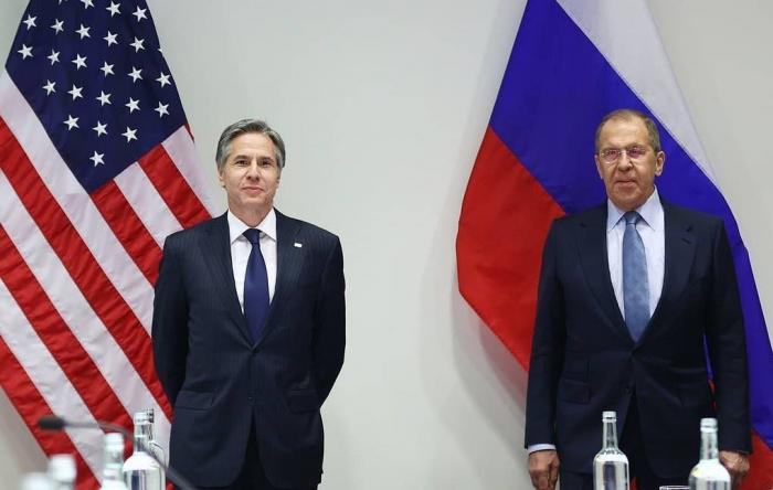 Blinken, Lavrov discuss situation on Azerbaijan-Armenia border