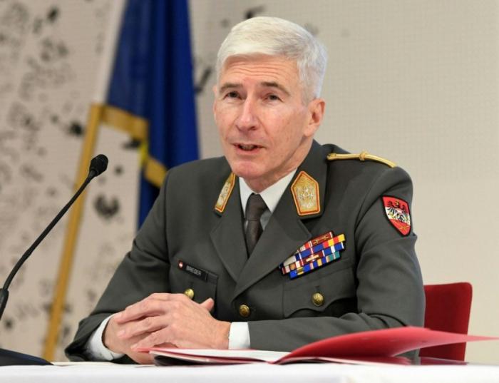 Austrian Chief of Staff Robert Brieger becomes highest general in EU