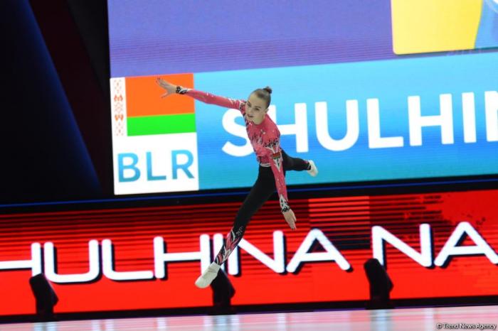 Baku hosts Aerobic Gymnastics World Age Group Competitions