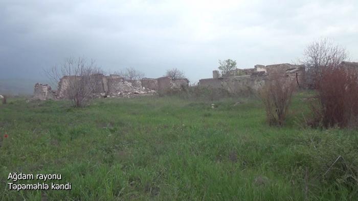 Tepemehle village of Azerbaijan
